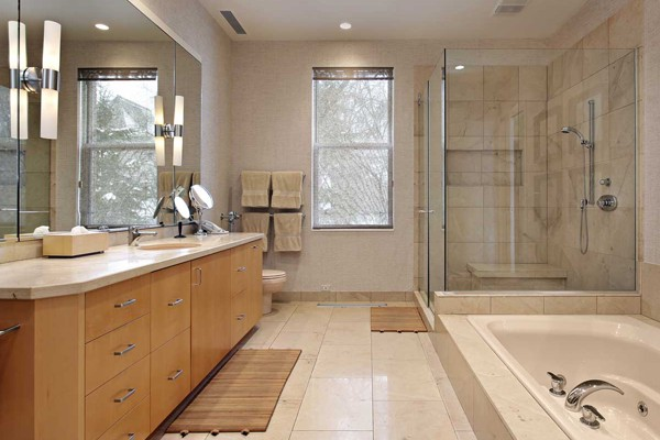 Bathroom without bath tub Lake Forest